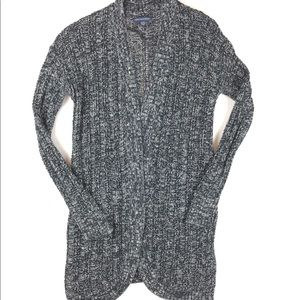 American Eagle Loose knit open long cardigan, S